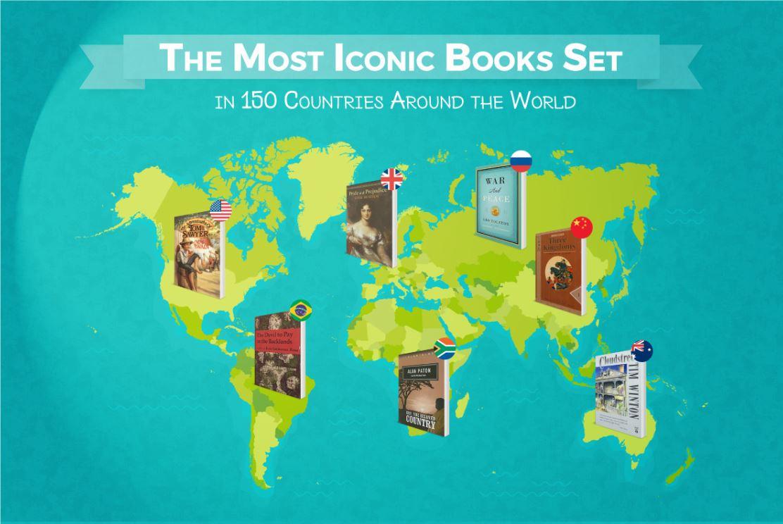 چارت ادبی: نمادینترین آثار ادبی واقعشده در ۱۵۰ کشور دنیا