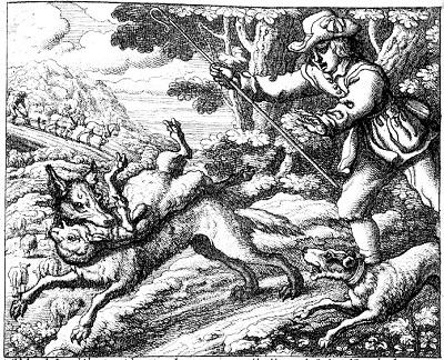 Boy cried wolf barlow