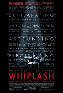 Whiplash movie cover