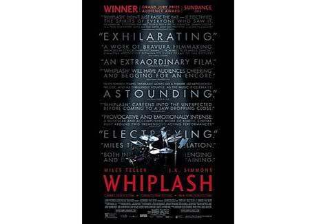 Whiplash movie cover