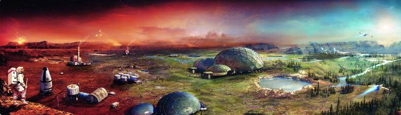 زمینیسازی شاید روی مریخ جوابگو نباشد