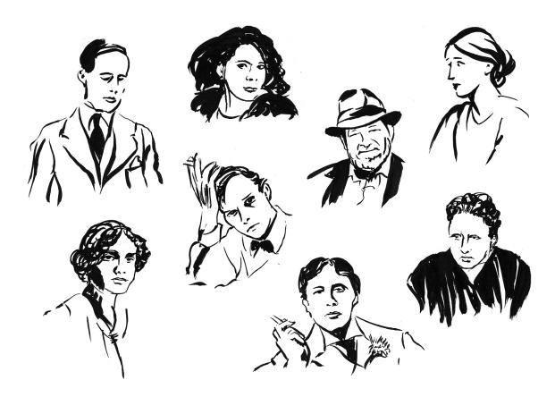 The Modernist Writers